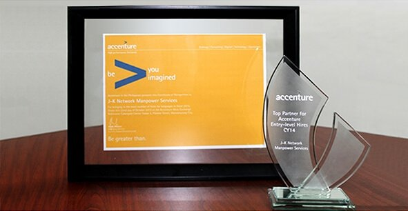 Award from Accenture